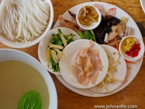 Cross Bridge Rice Noodles of Yunnan, China