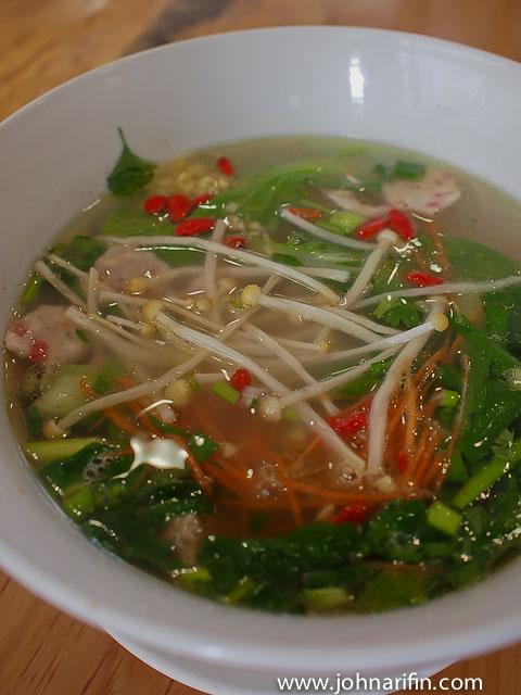 Cross bridge Rice Noodles Yunnan China