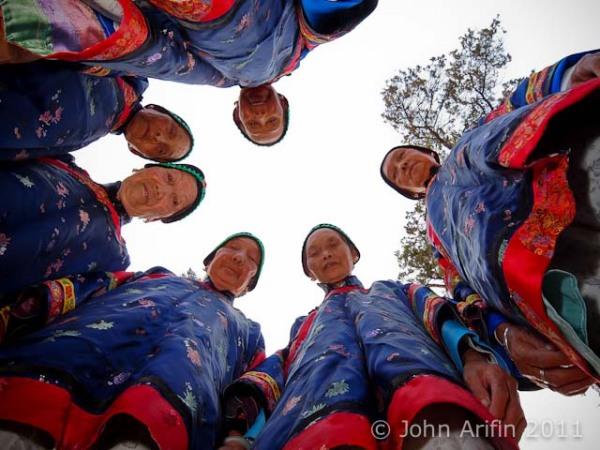 Feet Binding Ladies of Yunnan