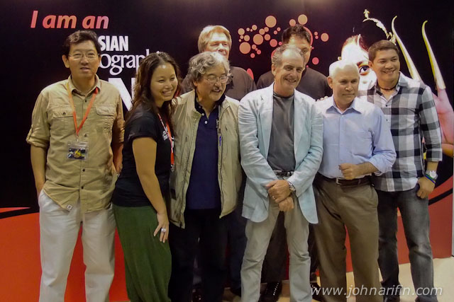 Speakers for One Asia 2011 and organizers Asian Geographic