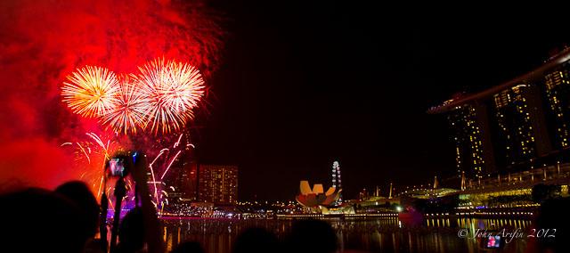 Singapore Marina Bay Sands New Year 2012