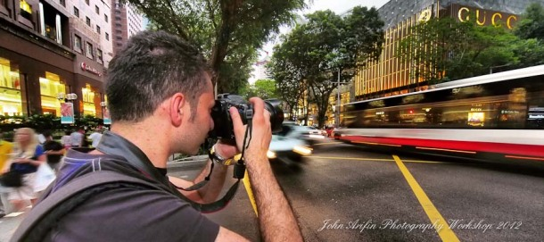 Photography workshop Singapore