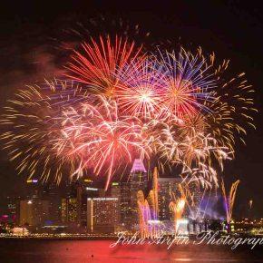 Singapore Celebrates 47th National Day withfireworks