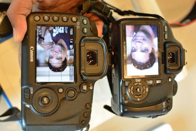 Depth of field Full frame versus APS-C frame camera