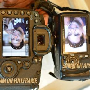 Depth of Field – Full frame sensor versus Cropped Frame APS-Csensor