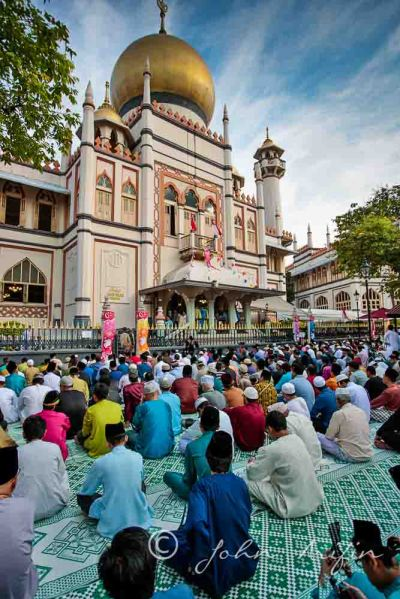 Hari Raya Singapore Celebration