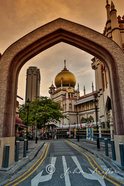 Sultan Mosque Singapore Hari Raya Celebration