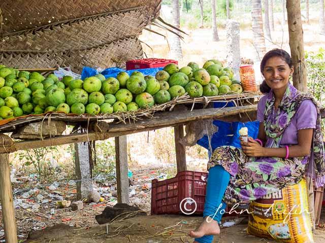 Mango season in southern India