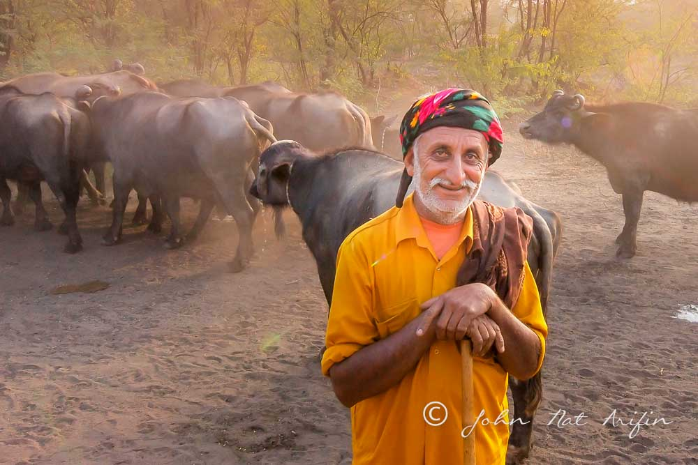People in Kutch. Photographing Birds In Gujarat Kutch District India